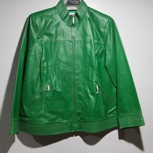 Bradley Bayou leather jacket!